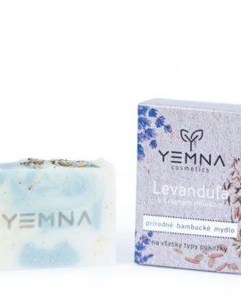 Prírodné levanduľové mydlo s ovseným mliekom a vločkami image