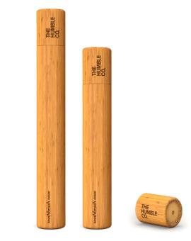 Bambusovový obal na zubnú kefku  - deti image
