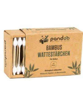 Pandoo - detské bambusové vatové tyčinky do uší image