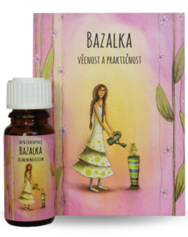 Éterický olej - bazalka (10ml) image