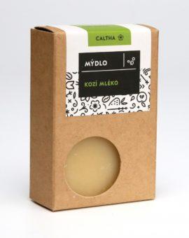 Prírodné mydlo Caltha - kozie mlieko image