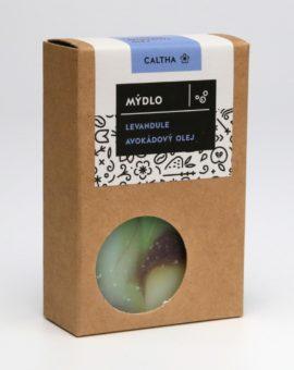 Prírodné mydlo Caltha - avokádový olej a levanduľa image
