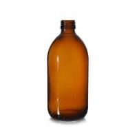 Sklenená fľaša - hnedá (500ml) image